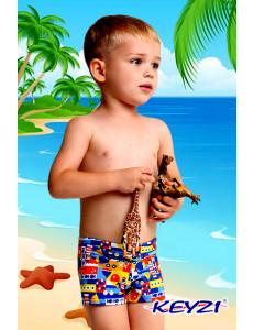 """Плавки купальные для мальчиков с морским рисунком """"Морячок"""""""